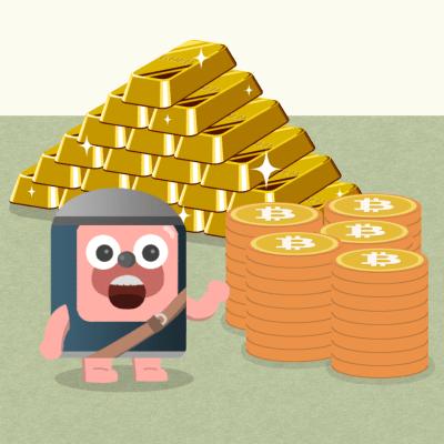 金とビットコイン