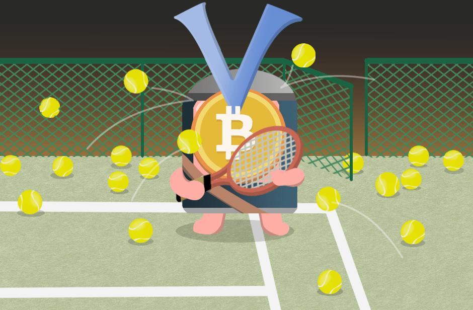 ビットコイン テニス