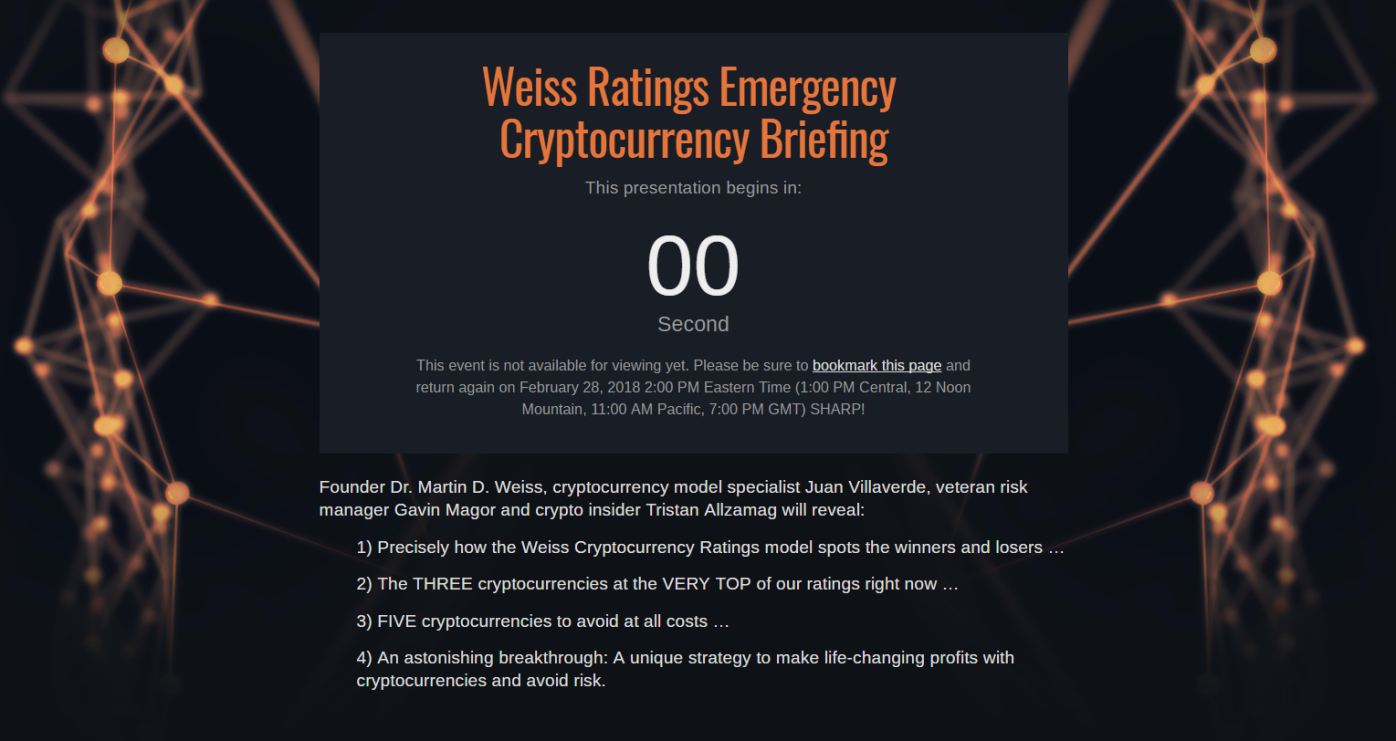Weiss Rating Emergency Brifing
