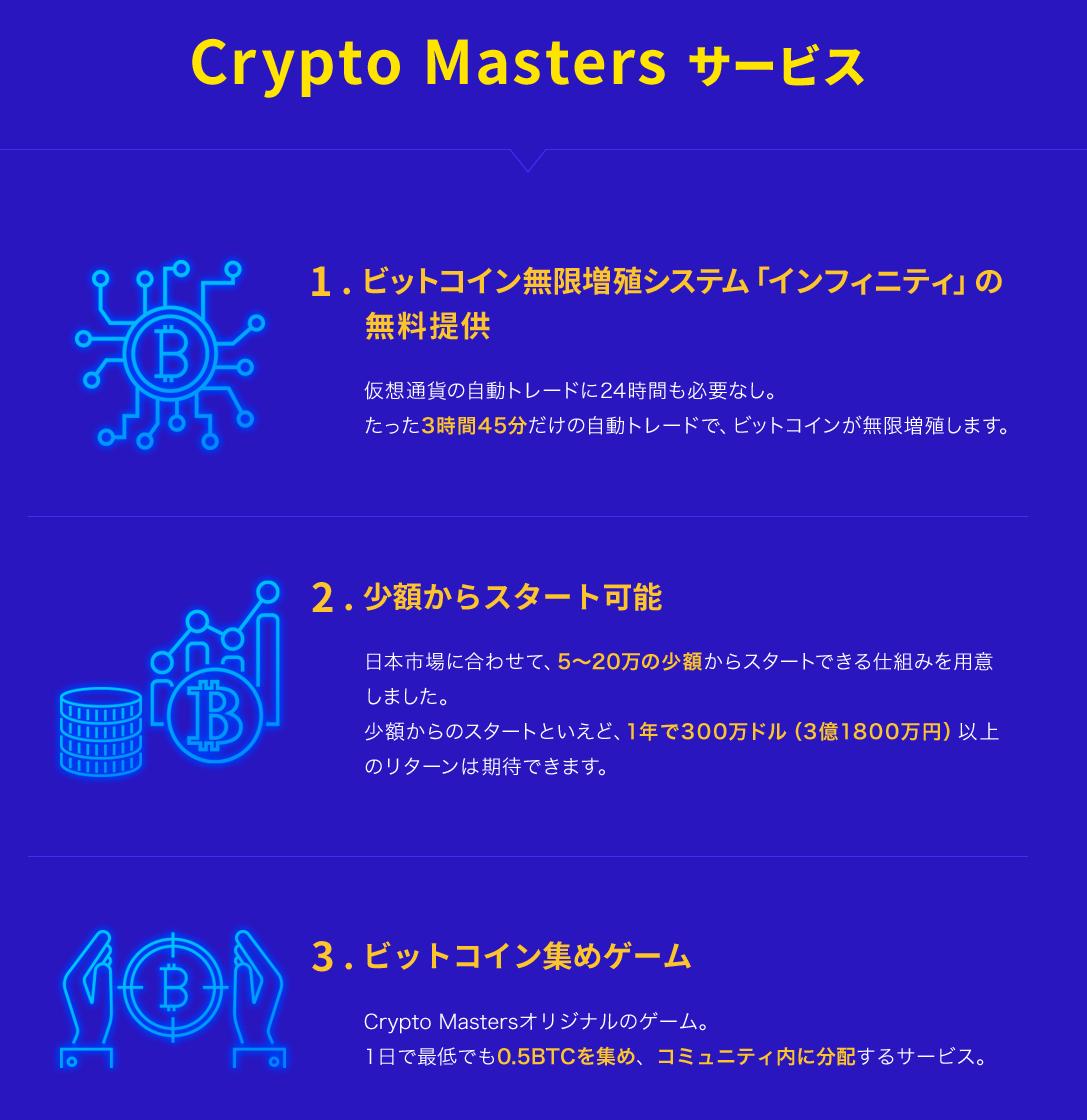 Crypto Masters サービス