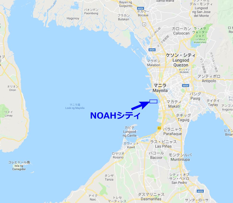 NOAHシティの場所