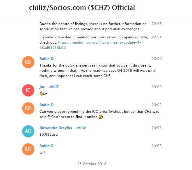 chiliZ